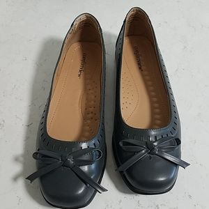 Comfortview Shoes - *Gray Flats, Size 10W